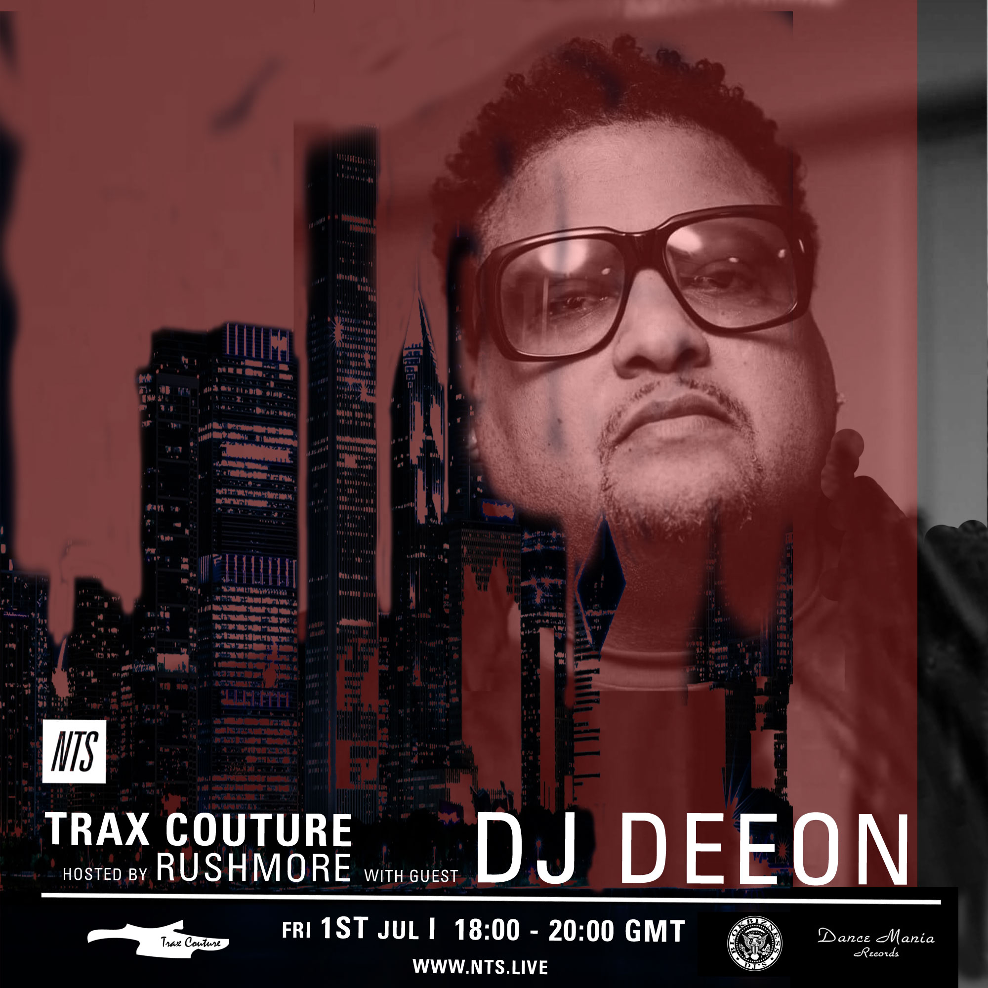 Trax Couture on NTS w/ DJ DEEON - Trax Couture